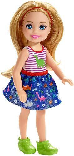 Boneca Barbie Clube Chelsea Dinossauro Criança Loira Top
