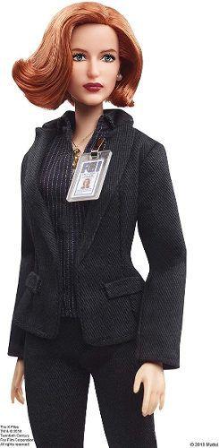Boneca Barbie Collector X Files Agent Dana Scully Rara