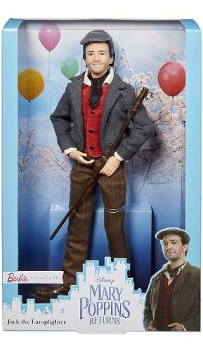 Boneco Barbie Collector Signature Disney Jack Mary Poppins
