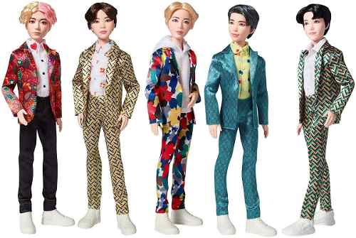 Boneco Mattel Bts Jin Ídolo Bangtan Boys K-pop Raro