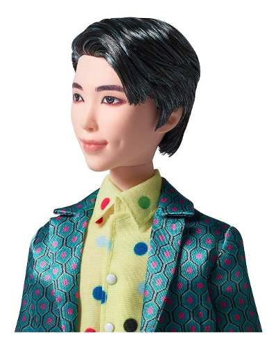 Boneco Mattel Bts Rm Ídolo Bangtan Boys K-pop Raro