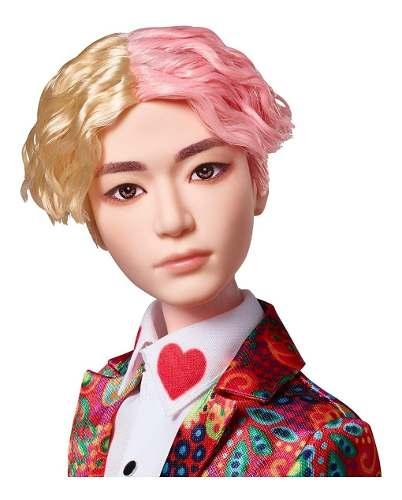 Boneco Mattel Bts V Ídolo Bangtan Boys K-pop Raro