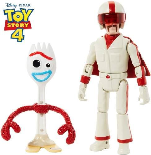 Bonecos Disney Toy Story 4 Garfinho 11cm E Duke Caboom 15cm
