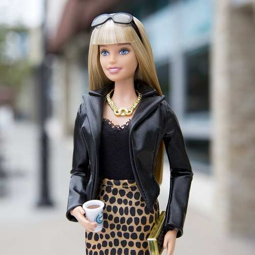 Boneca Barbie Collector The Barbie Look City Chic Loira Rara