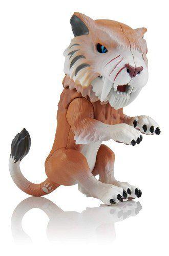 Agarradinho Fingerlings Tigre Dente De Sabre Marrom