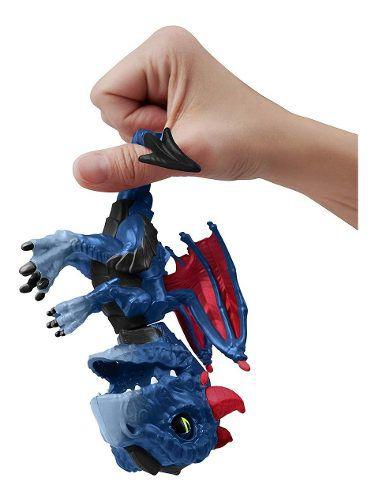 Agarradinho Fingerlings Dragão Shockwave Pet Interativo