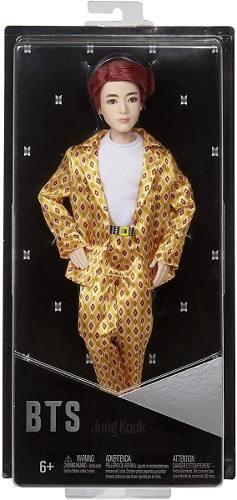 Boneco Mattel Bts Jung Kook Ídolo Bangtan Boys K-pop Raro