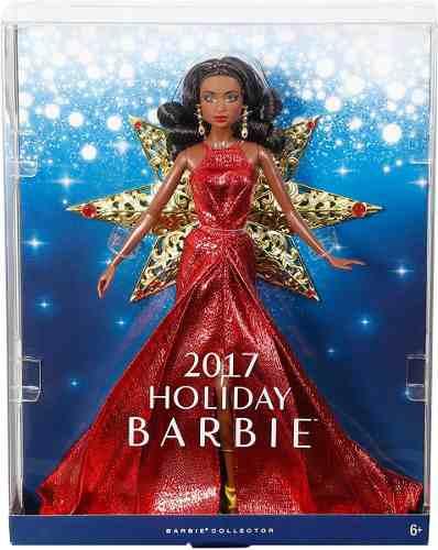 Boneca Barbie Collector 2017 Holiday Nikki Negra Rara Linda