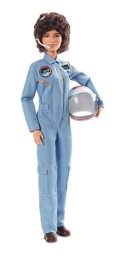 Boneca Barbie Collector Sally Ride Astronauta Articulad 2019