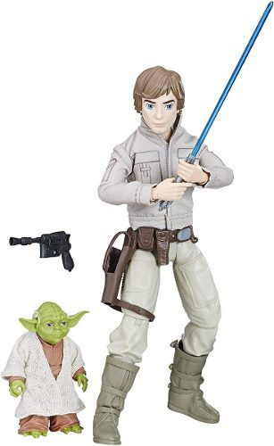 Bonecos Star Wars Forces Of Destiny Luke Skywalker E Yoda