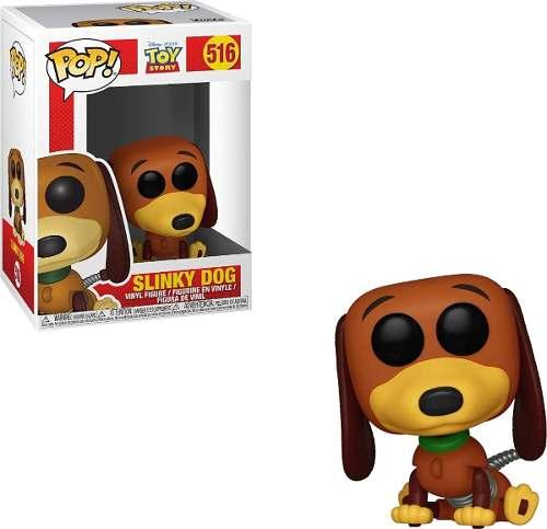 Boneco Funko Pop Toy Story 4 - Slinky Dog #516