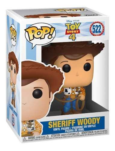 Boneco Funko Pop Toy Story 4 - Sheriff Woody #522