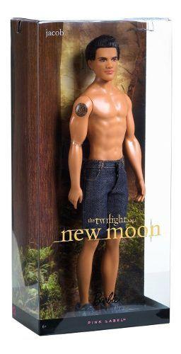 Boneco Ken Barbie Collector Filme Crepúsculo Lua Nova Jacob