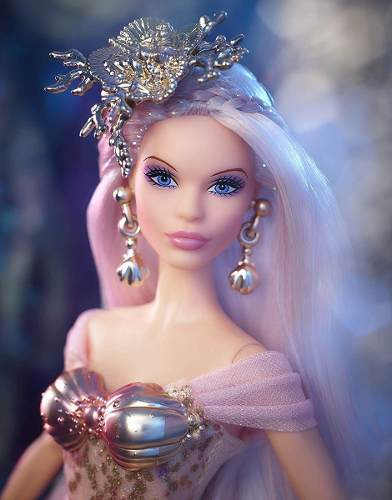Boneca Barbie Collector Sereia Encantadora Enchantress Rara