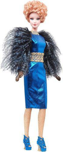 Boneca Barbie Collector Effie Trinket Filme Jogos Vorazes