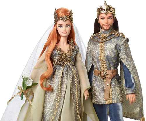Boneca Barbie E Ken Collector Floresta Distante Casamento