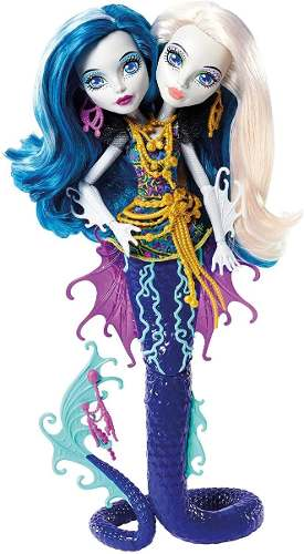 Monster High Great Scarrier Reef Peri/pearl Serpent Doll