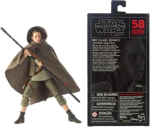 Star Wars Rey (island Journey) Black Series Figure Hasbro