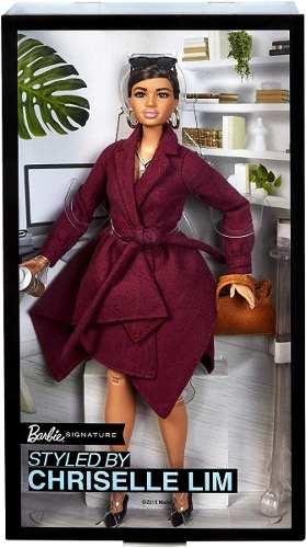 Boneca Barbie Signature Chriselle Lim 2 Articulada Luxo 2019