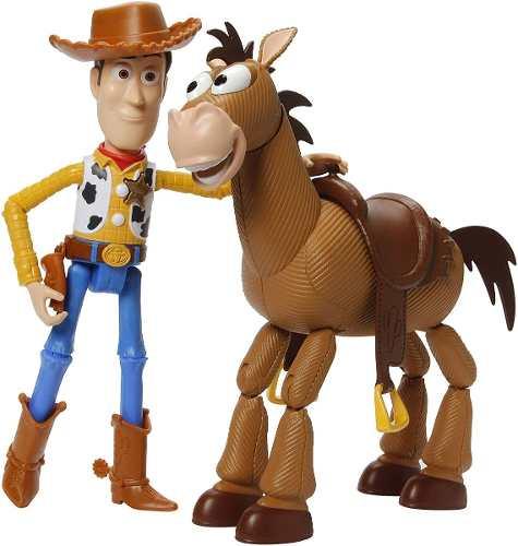 Bonecos Toy Story 4 Disney Woody & Bullseye Cavalo Top Eua