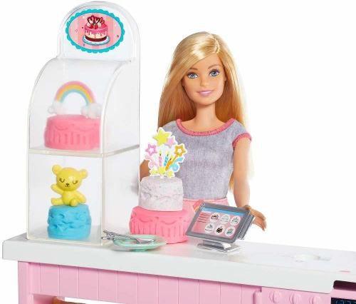 Boneca Barbie Boleira Decoração De Bolo Playset Nova 2019