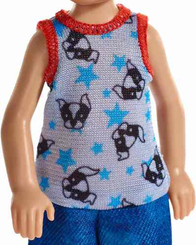Boneco Barbie Club Chelsea Camisa Cachorrinhos 2019