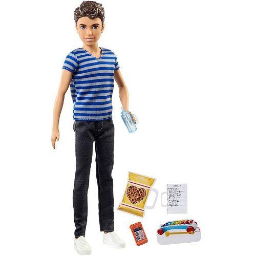 Boneco Ken Barbie Skipper Babysitters Ryan Babá 2019 Top