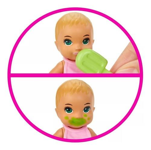 Bebê Da Barbie Skipper Babysitters Com Banheira E Acessórios