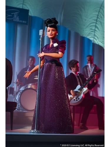 Boneca Barbie Collector Ella Fitzgerald Inspirando Mulheres