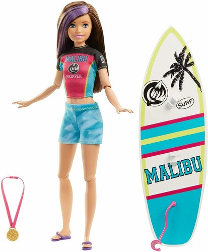 Boneca Barbie Surfista Dreamhouse Adventures Skipper 2020