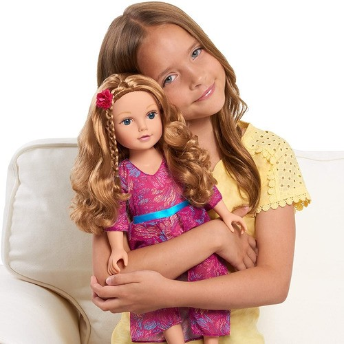 Boneca Journey Girls Mikaella 45cm Reborn Girl Americana Top