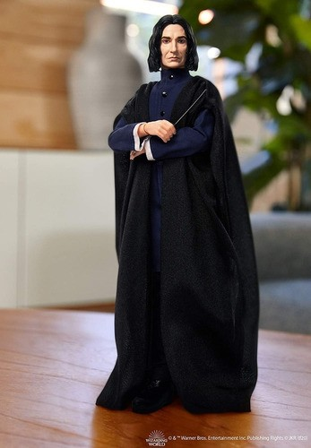 Boneco Severus Snape Harry Potter Articulado Mattel 25cm