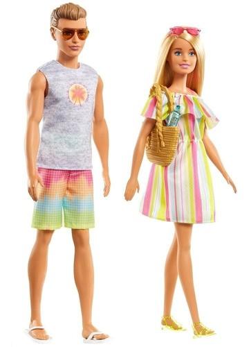 Carro Da Barbie Com Boneca, Ken, Roupas E Piscina Original