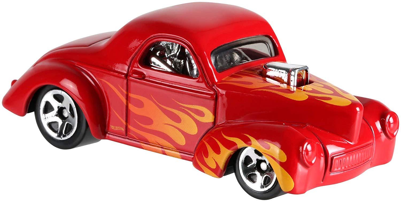 Hot Wheels Caixa Com 20 Carrinhos Sortidos Para Presente Top