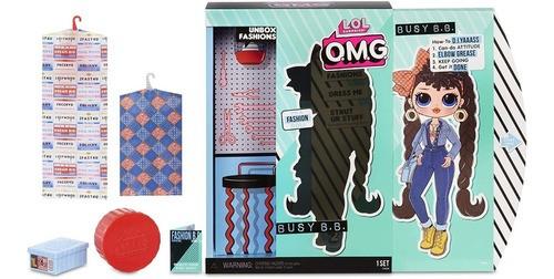 Lol Surprise Omg Busy B.b. Fashion Com 20 Surpresas Top