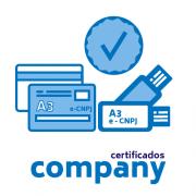 Certificado Digital PJ A3 (somente certificado)