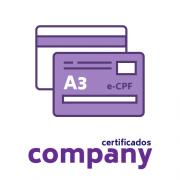 Certificado Digital PF A3 + Cartão
