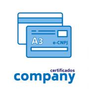 Certificado Digital PJ A3 + Cartão