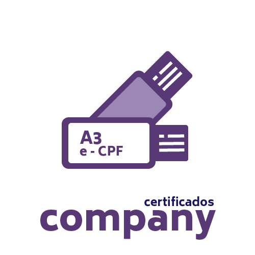 Certificado Digital PF A3 + Token