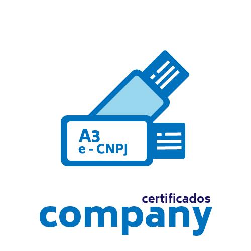 Certificado Digital PJ A3 + Token