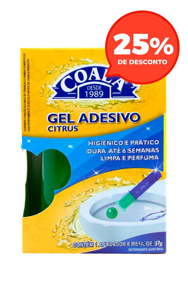 Aplicador Gel Adesivo + Refil Citrus 37G
