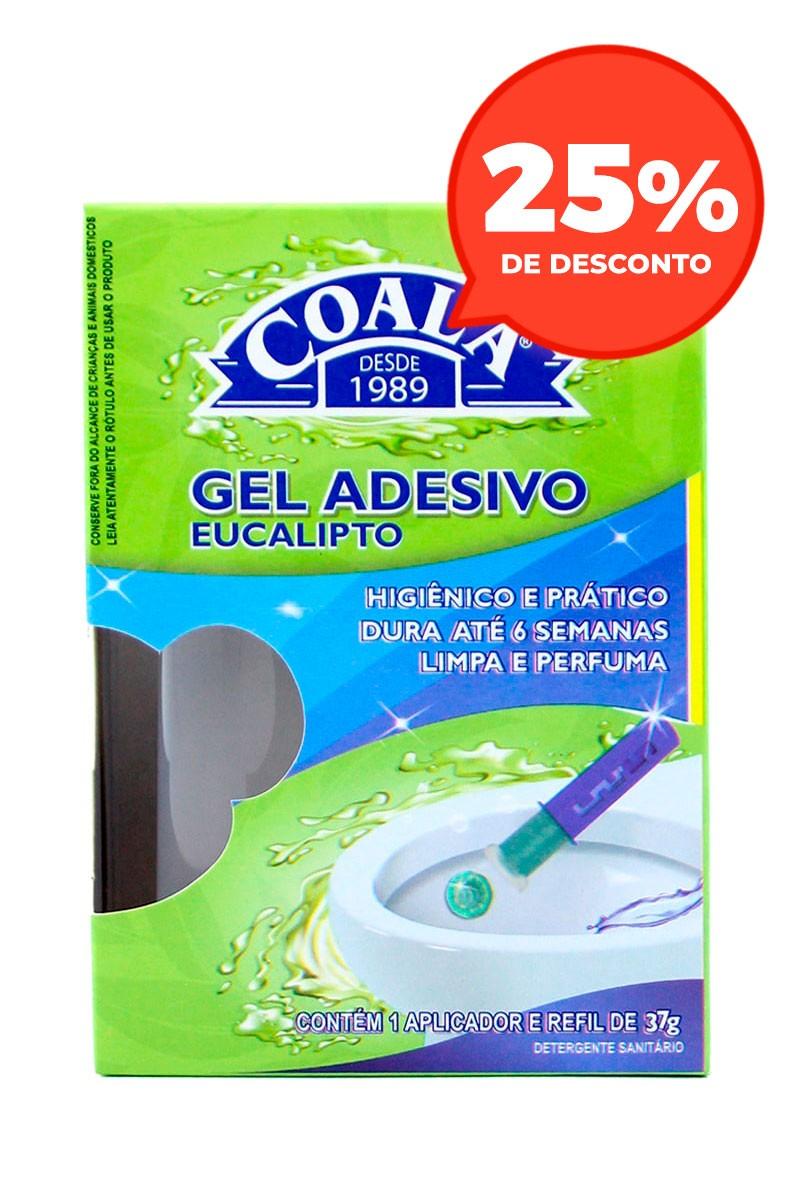 Aplicador Gel Adesivo + Refil Eucalipto 37G