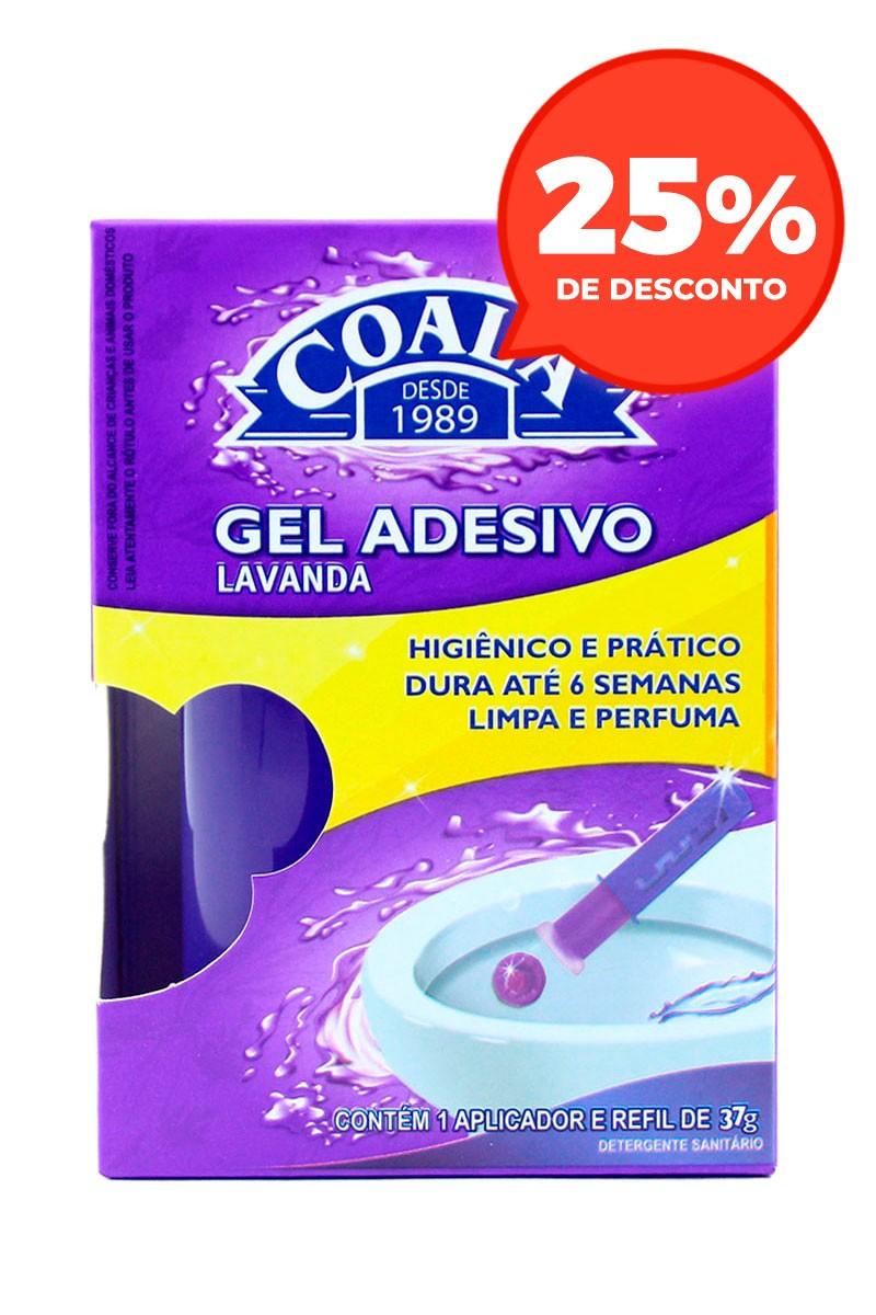 Aplicador Gel Adesivo + Refil Lavanda 37G
