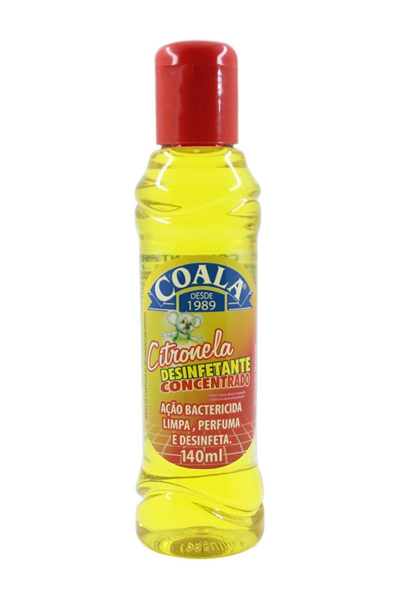 Desinfetante Concentrado Citronela 140ML
