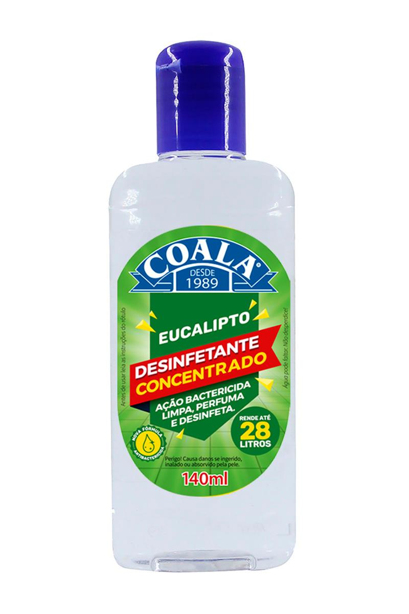 Desinfetante Concentrado Eucalipto 140ML