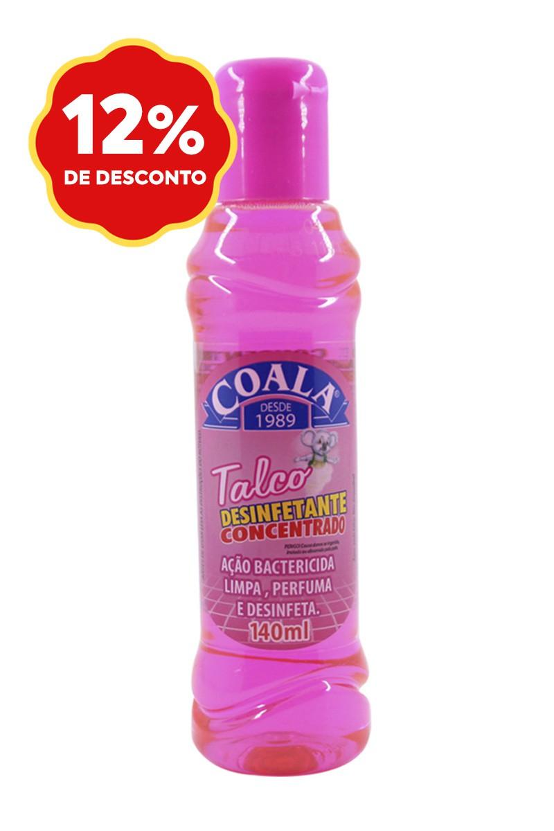 Desinfetante Concentrado Talco 140ML