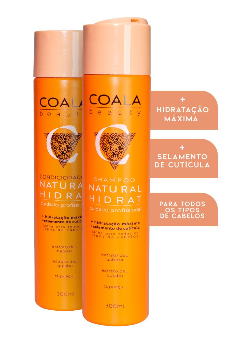 Kit Shampoo + Condicionador Natural Hidrat