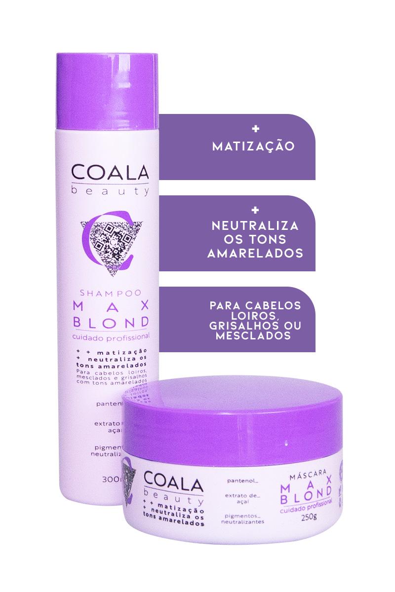 Kit Shampoo + Máscara Max Blond