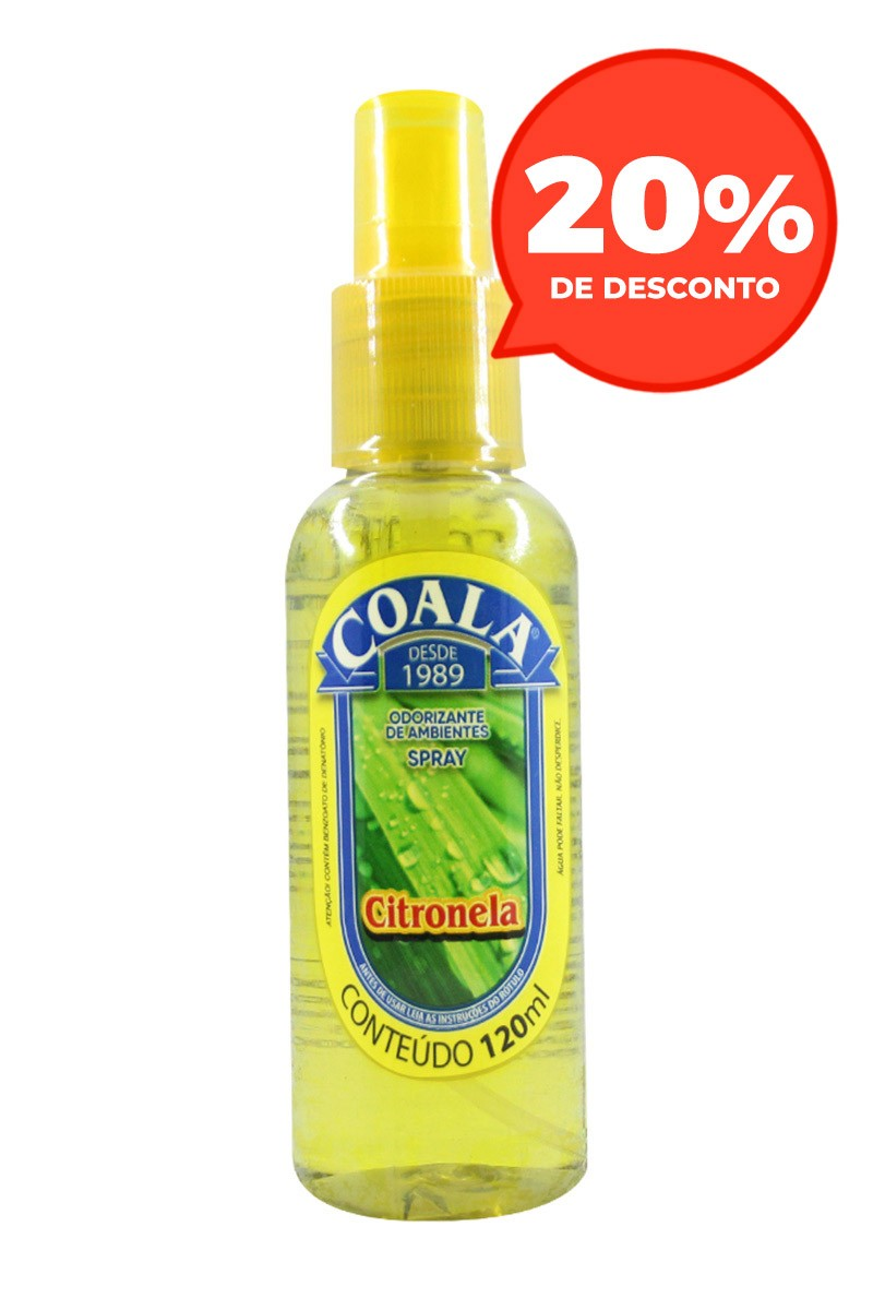 Odorizante Spray Citronela 120ML