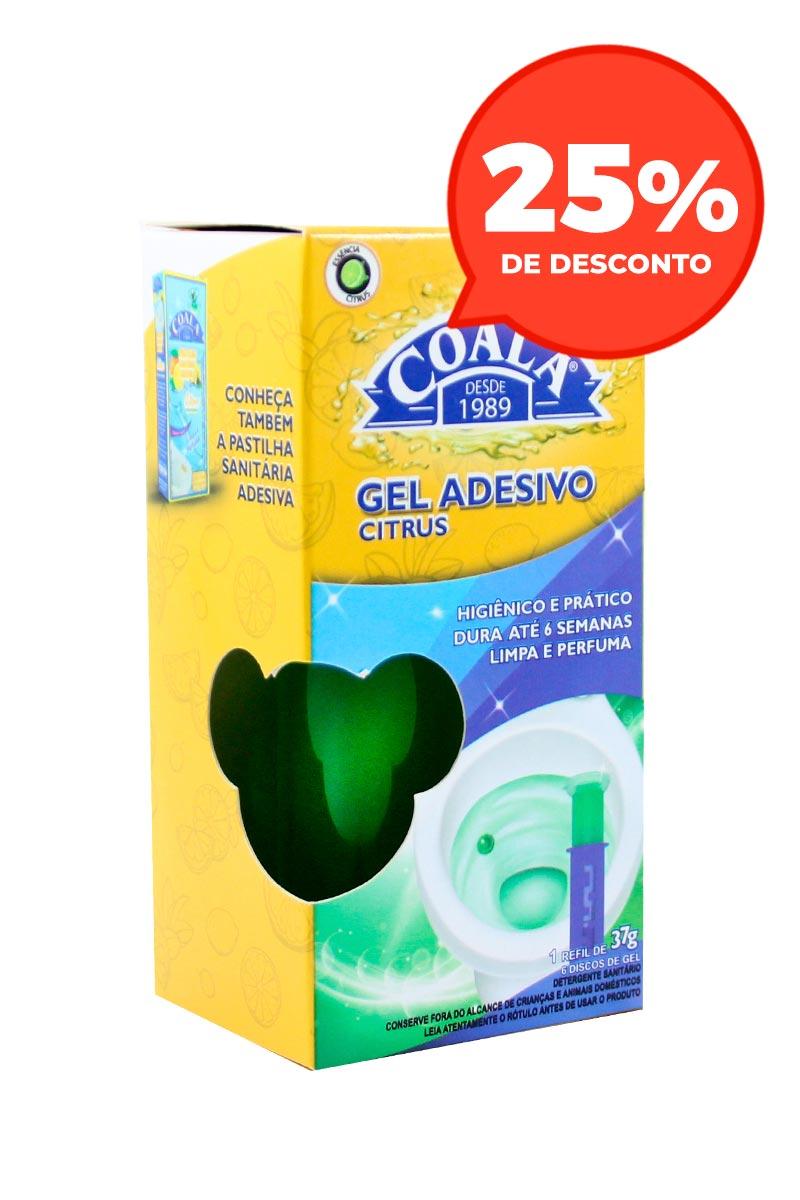 Refil Gel Adesivo Citrus 37G